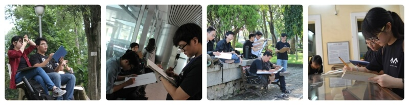 Học viên khóa 5 Viện Truyện tranh và Hoạt hình
