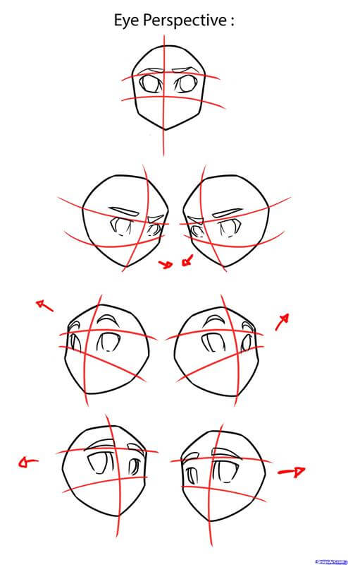 Tip vẽ đôi mắt anime