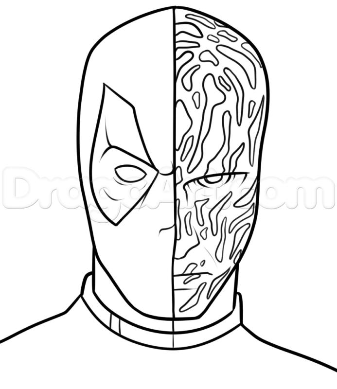 Tô màu Deadpool