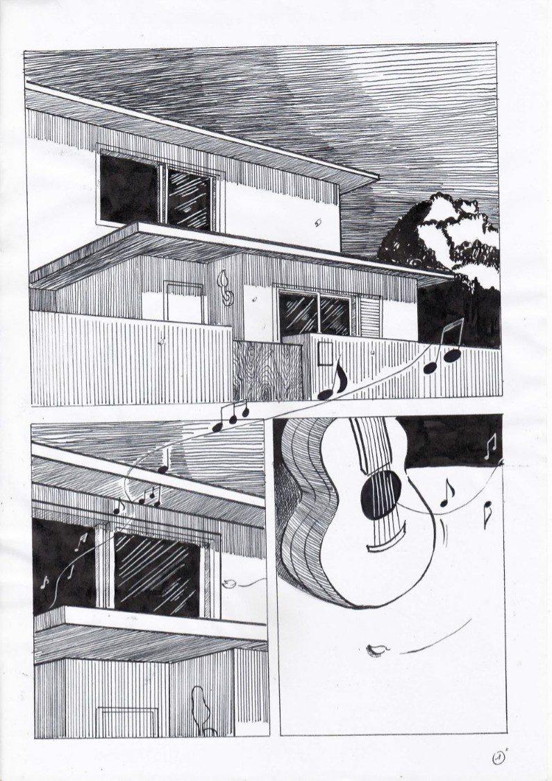 truyện tranh bên trong căn phòng 01
