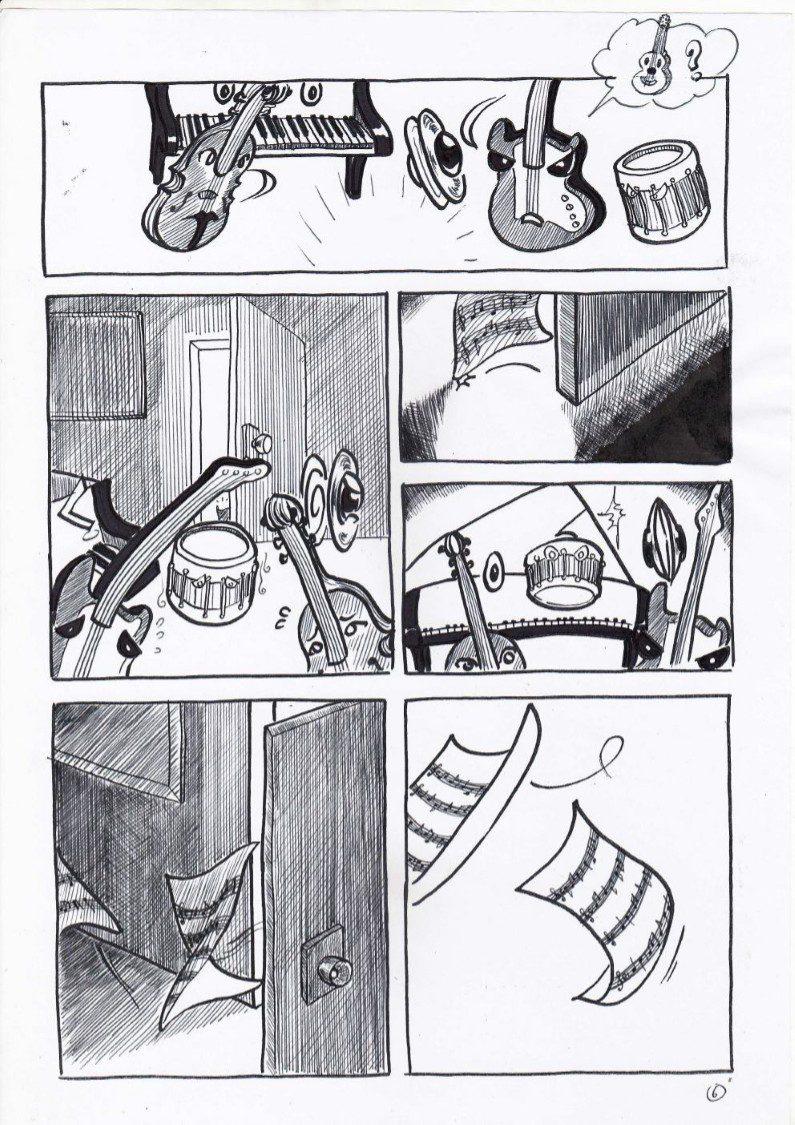 truyện tranh bên trong căn phòng 06