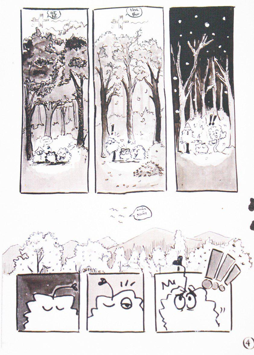 Truyện tranh Chuyện Cục Cỏ 03
