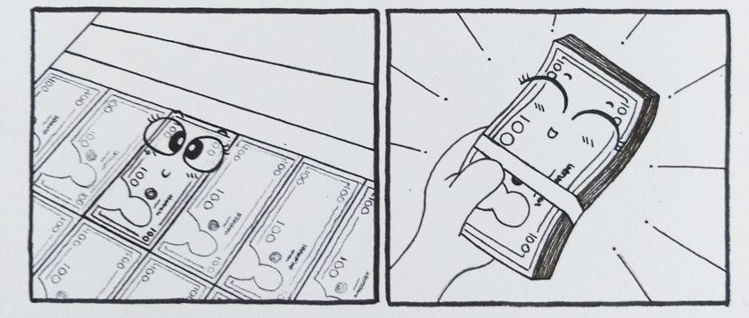 """Đồ án truyện tranh """"Chuyện Tờ Tiền"""""""