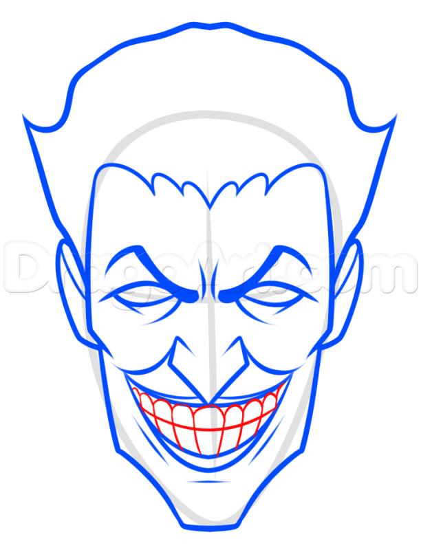 Vẽ Joker bước cuối cùng