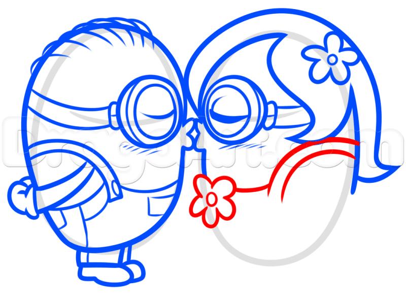 Vẽ Minions quần áo