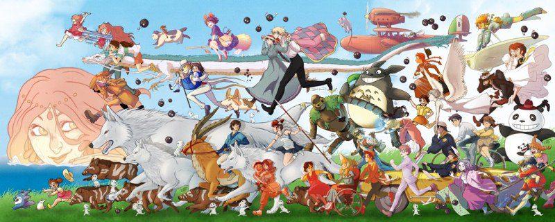 100 năm hoạt hình Nhật Bản Ghibli đóng góp cho sự phát triển của anime