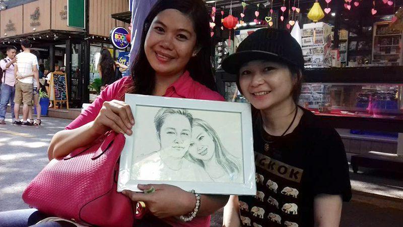CMA Vẽ tranh tại cafe Đẹp