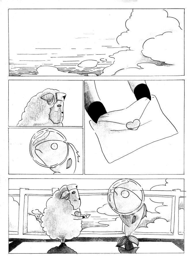Đồ án Truyện tranh The Heart 04