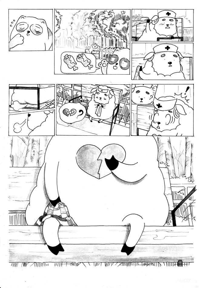 Đồ án Truyện tranh The Heart 10