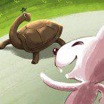 Học Digital Painting minh hoạ Rùa và Thỏ