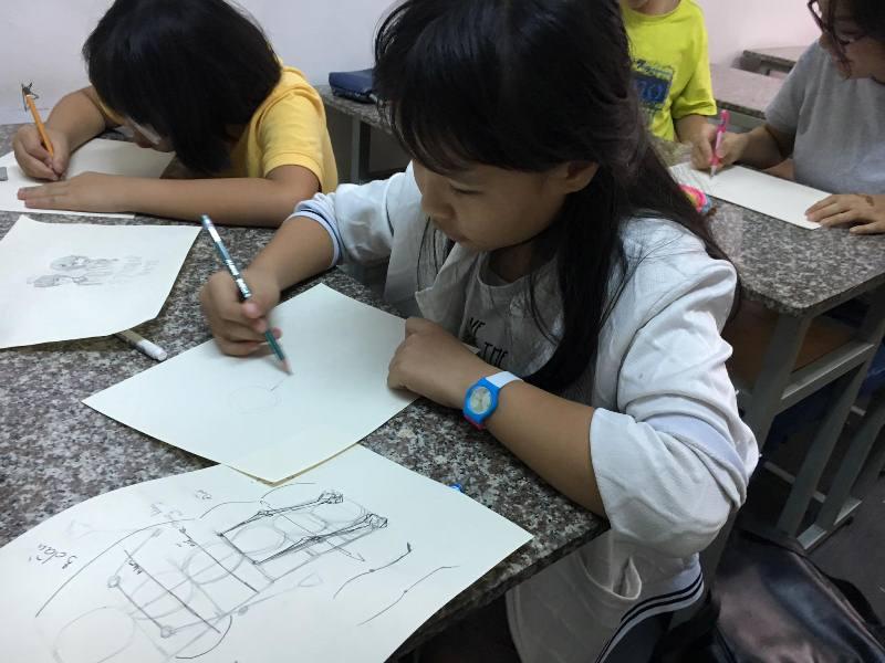 Khai giảng lớp dạy vẽ truyện tranh Manga Comic nâng cao 4