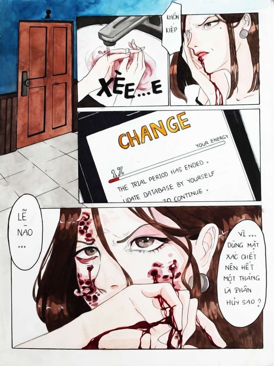 truyện tranh change 15