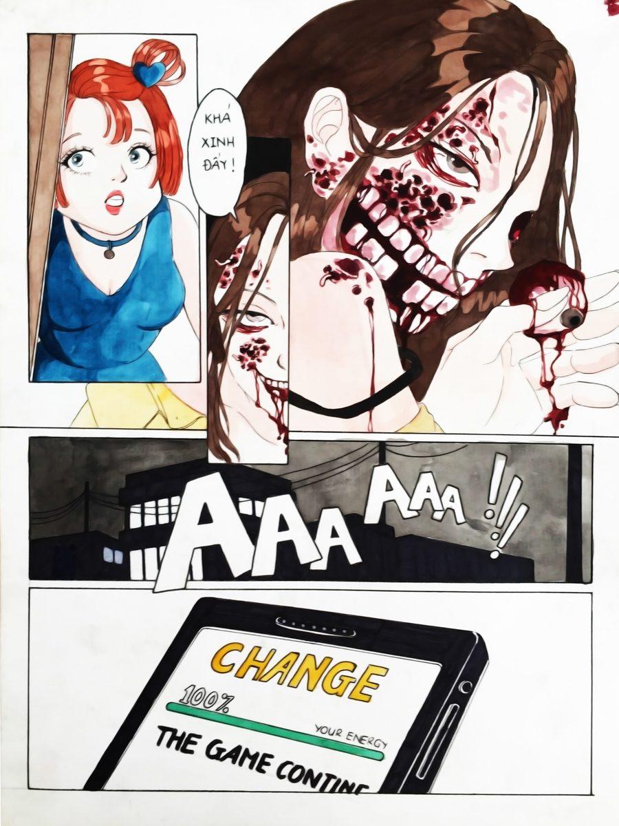 truyện tranh change 16