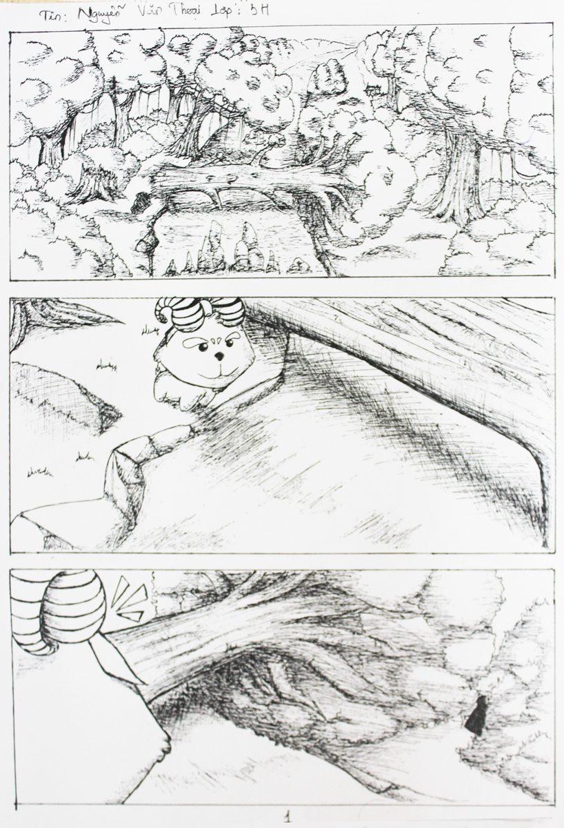truyện tranh Dê Đen De Trắng 01