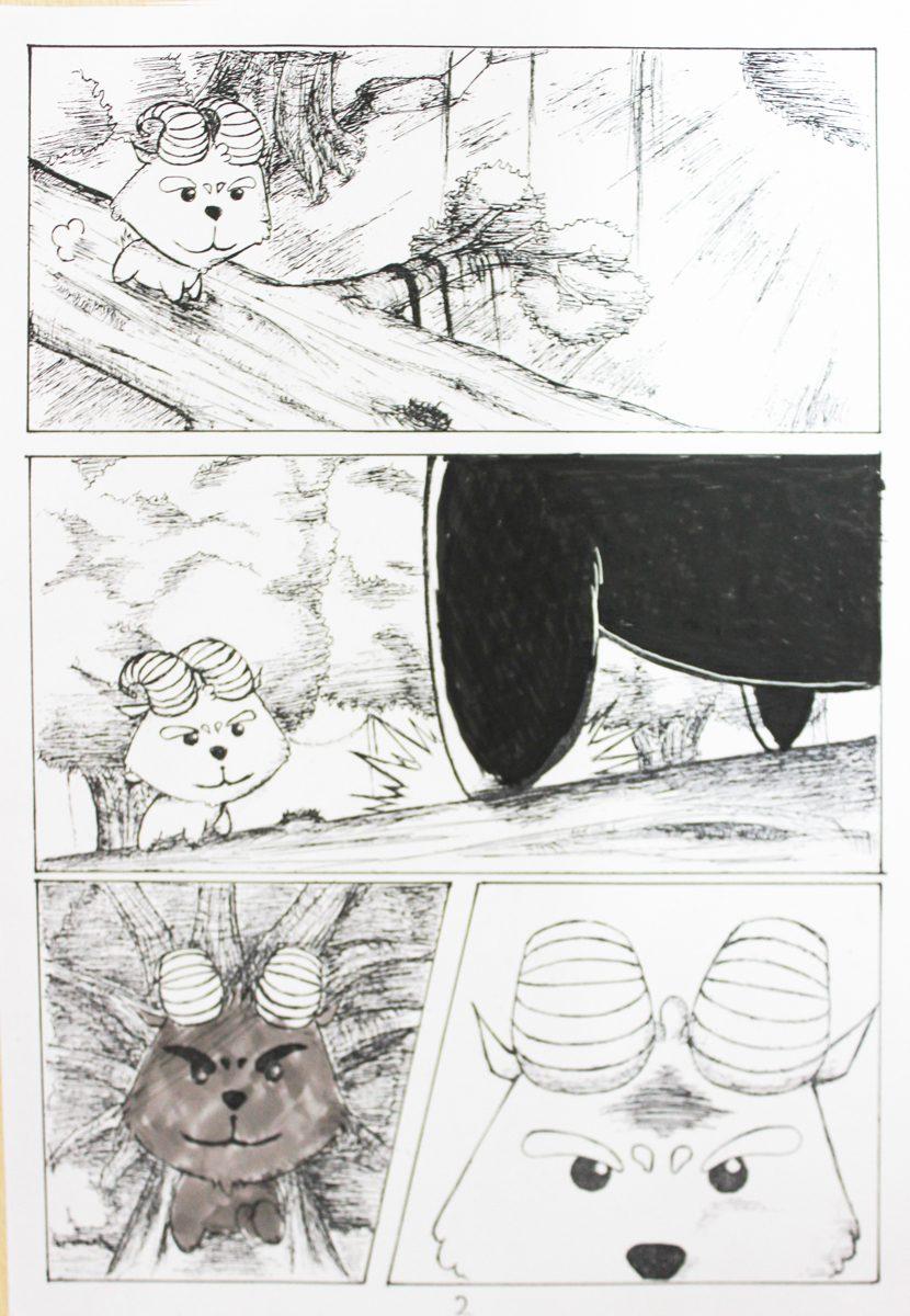 truyện tranh Dê Đen De Trắng 02