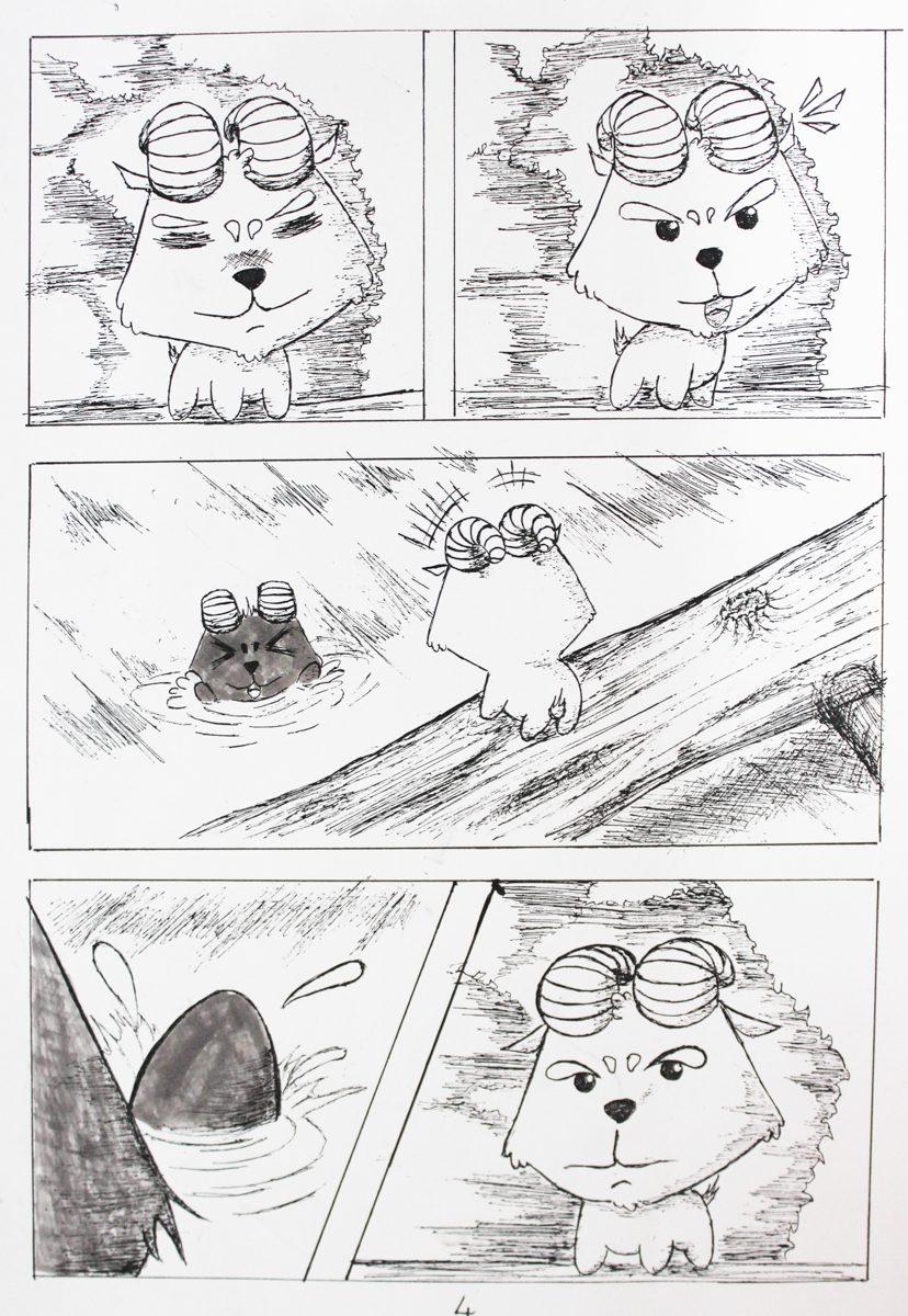 truyện tranh Dê Đen De Trắng 03