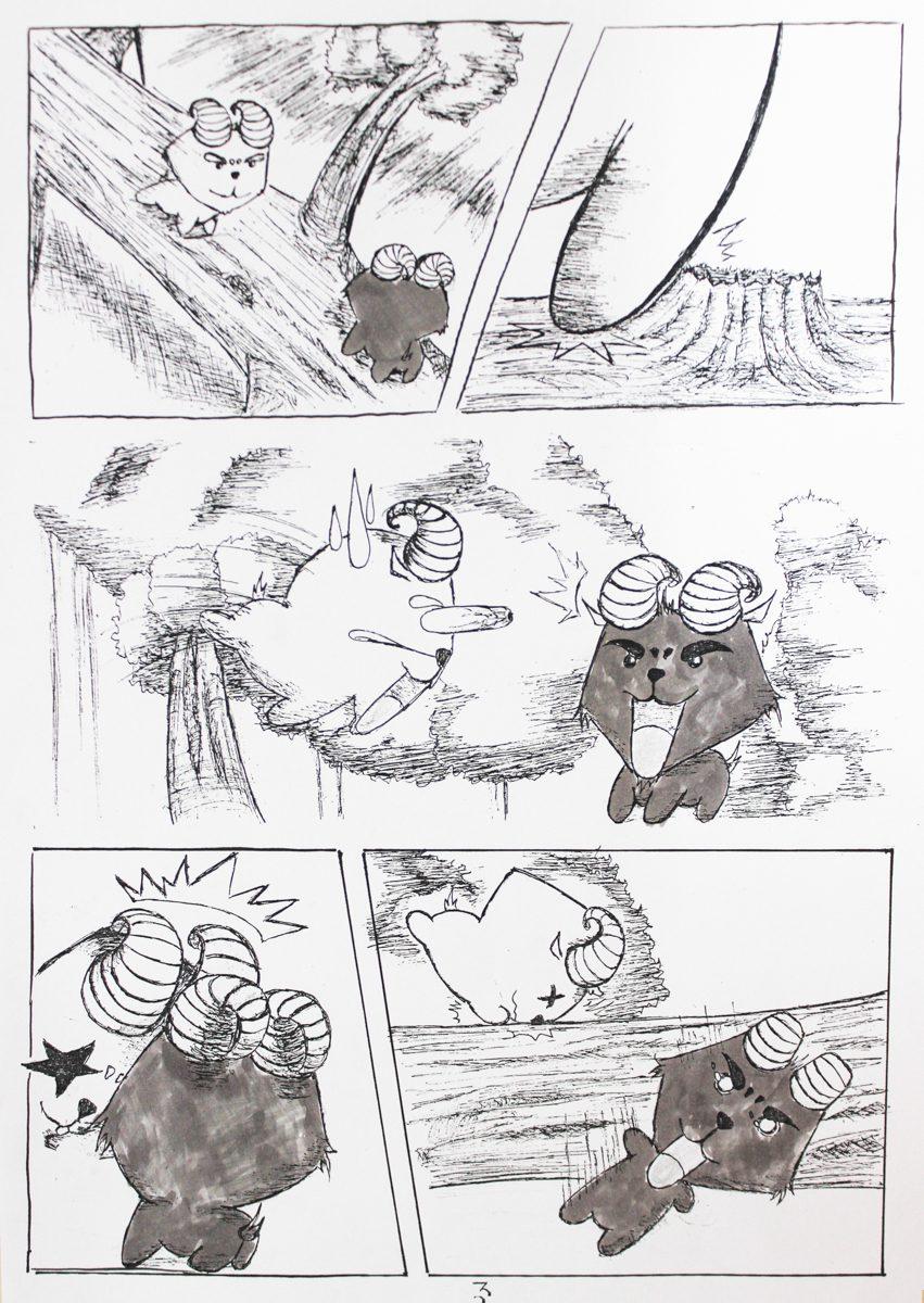 truyện tranh Dê Đen De Trắng 04