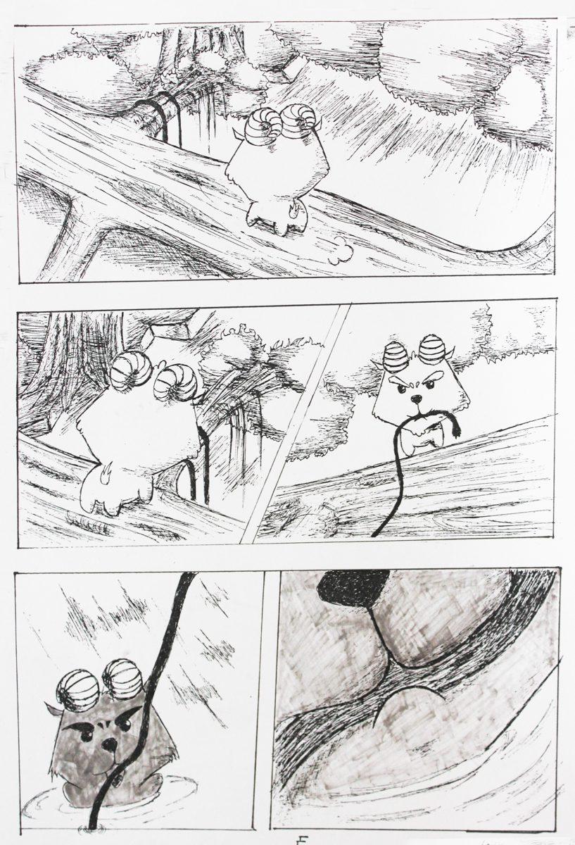 truyện tranh Dê Đen De Trắng 05
