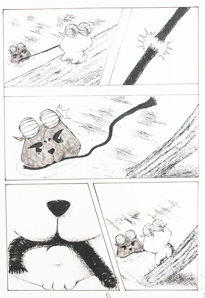 truyện tranh Dê Đen De Trắng 06