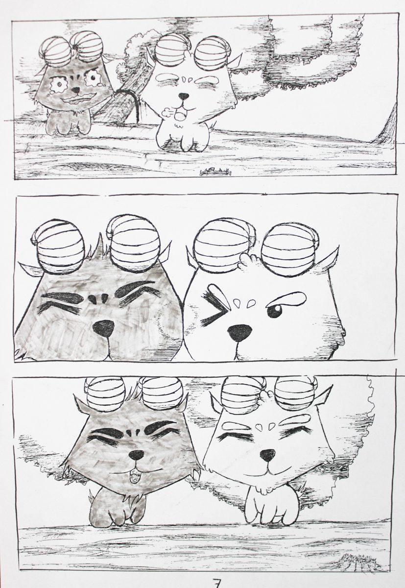 truyện tranh Dê Đen De Trắng 07