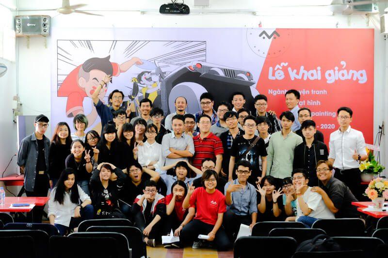 Comic Media Academy Khai giảng Khóa 06 Hệ Kỹ thuật viên 113