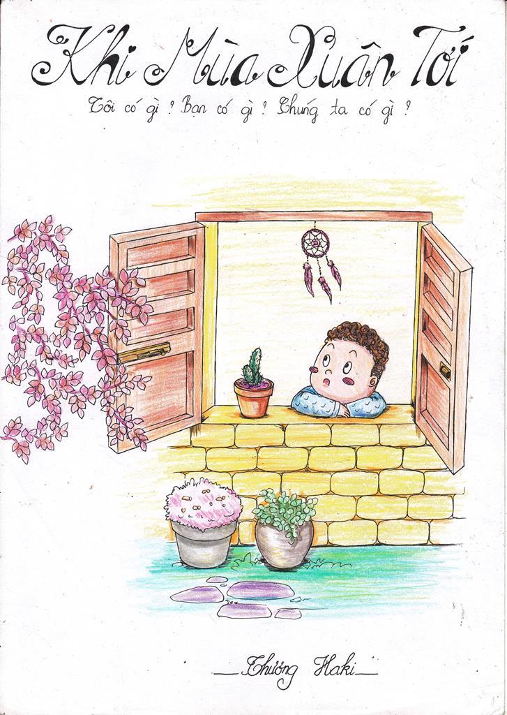 Truyện tranh Khi Mùa Xuân Tới trang bìa
