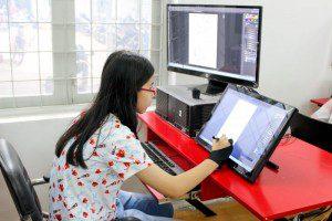 Lớp dạy vẽ Manga trên máy 21