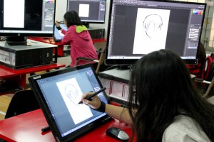 Lớp dạy vẽ Manga trên máy 9