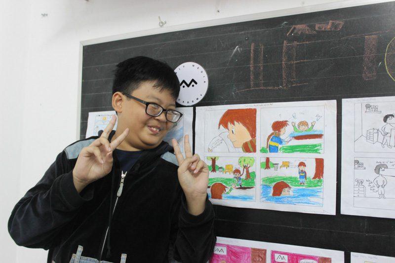 lớp học vẽ manga comic 11