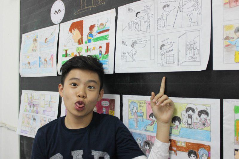 lớp học vẽ manga 12