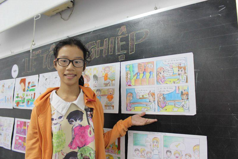 lớp học vẽ manga 13