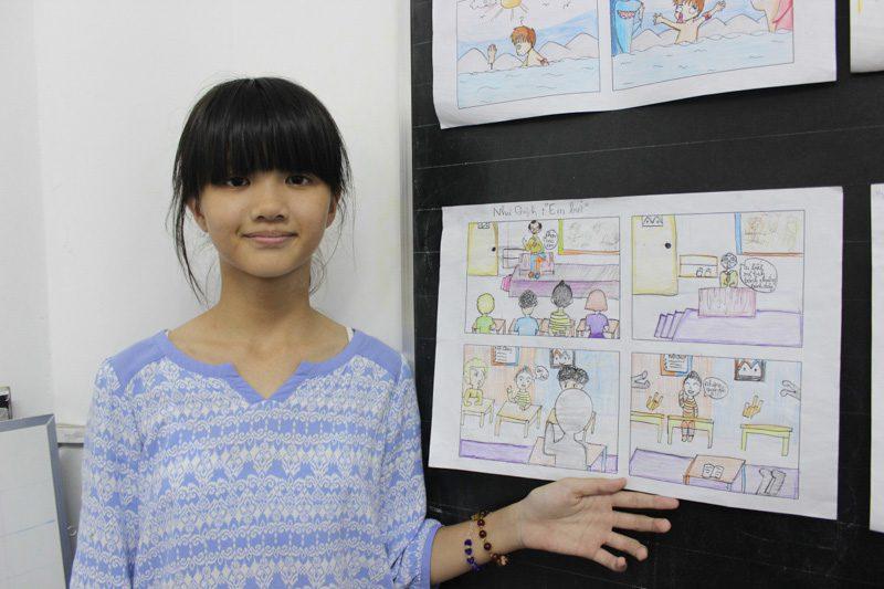 lớp học vẽ manga 14