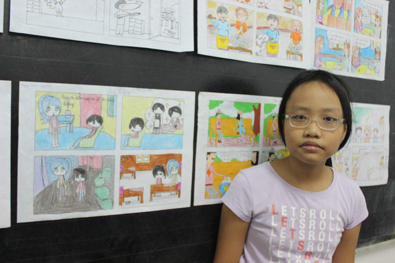 lớp học vẽ manga 18