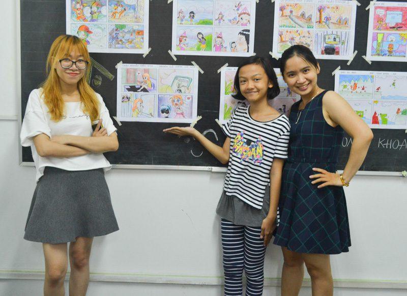 lớp học vẽ manga comic