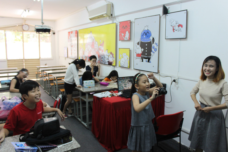 lớp vẽ manga comic 34