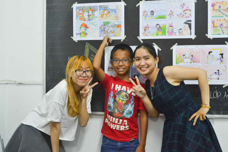 lớp học vẽ manga comic 4