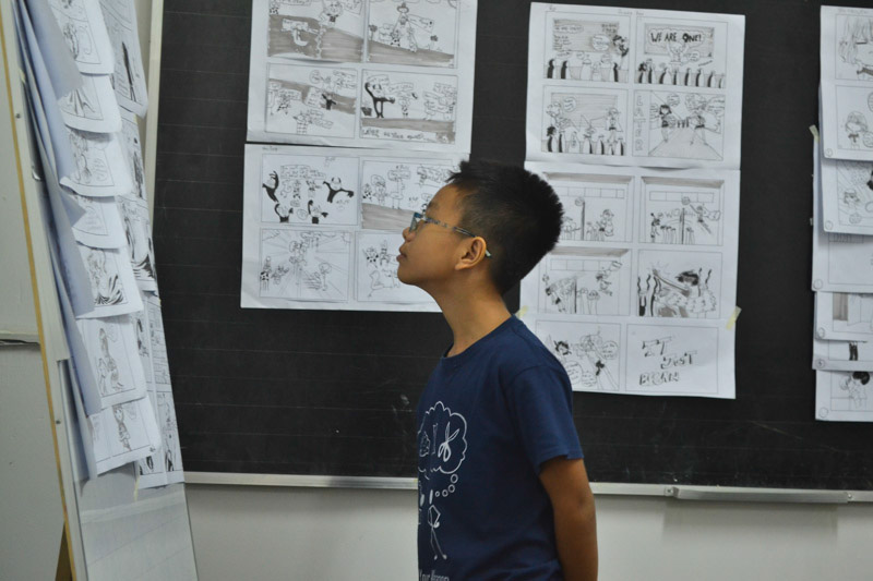 lớp vẽ manga comic 44