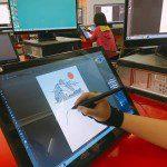 Lớp vẽ truyện tranh trên máy cho trẻ 8-14 tuổi 08