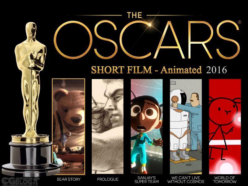 Những bộ phim hoạt hình ngắn xuất sắc của Oscar 2016