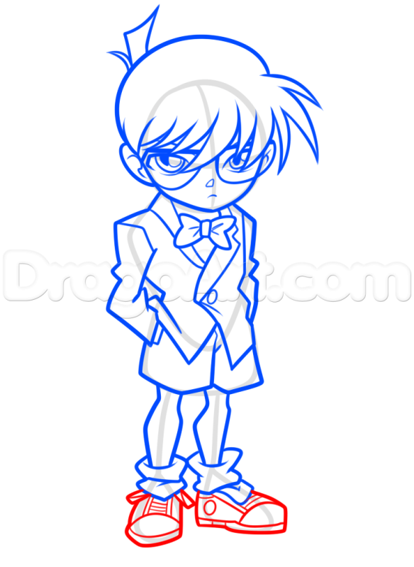 Vẽ giầy Conan