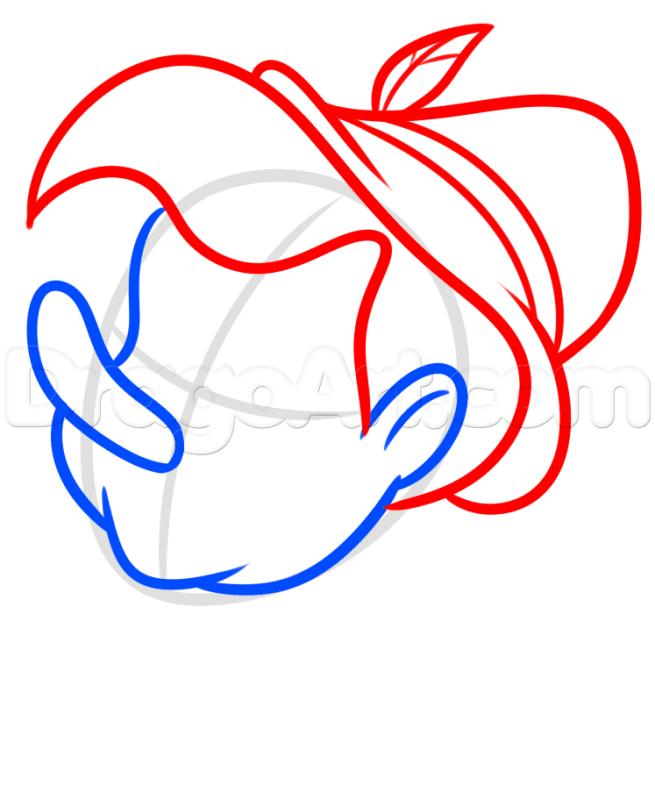 6 bước vẽ cậu bé Pinocchio dễ dàng 3
