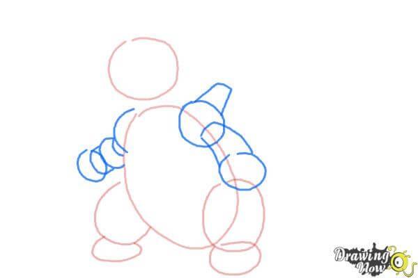 9 bước vẽ Pokemon Aggron siêu ngầu 3
