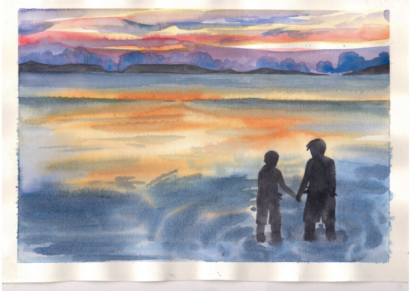 Thực Tế Nam Du - Water Color Khương Thảo 11