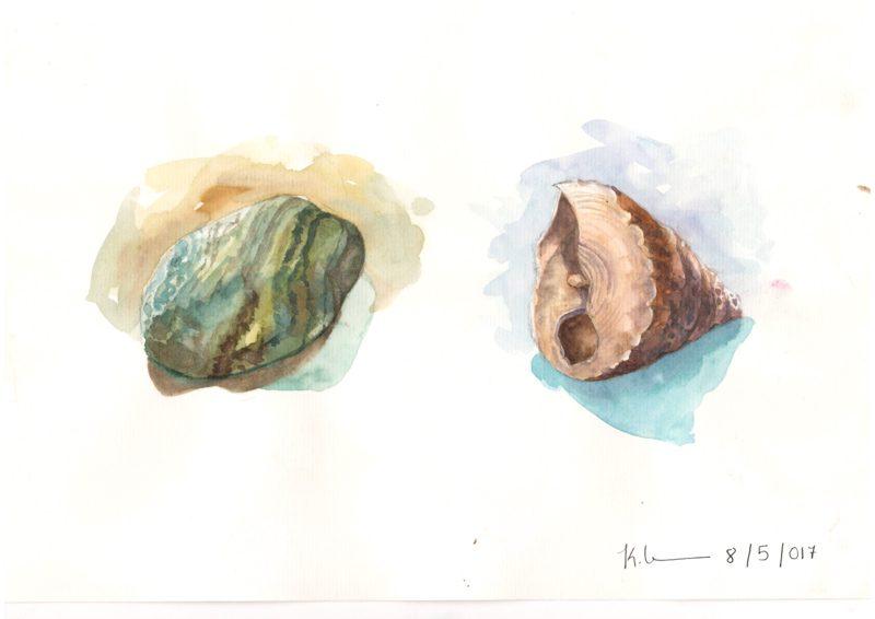 Thực tế Nam Du Watercolor Khương Thảo 17