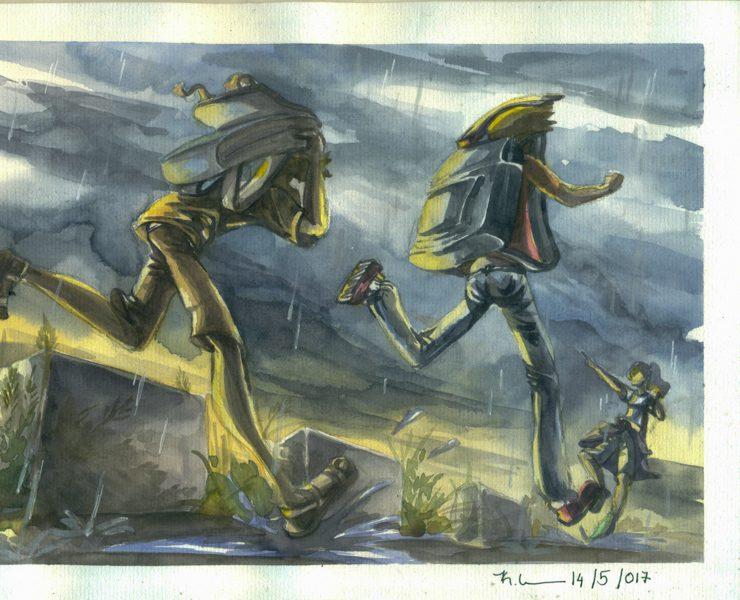 Thực tế Nam Du Watercolor Khương Thảo 24