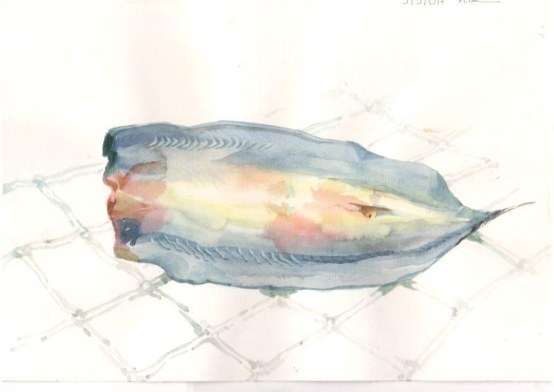Thực tế Nam Du Watercolor Khương Thảo 6