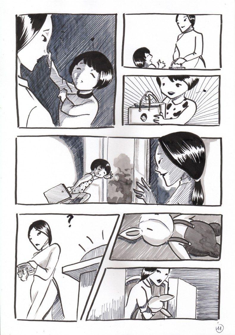 Truyện tranh Con Ơi 11