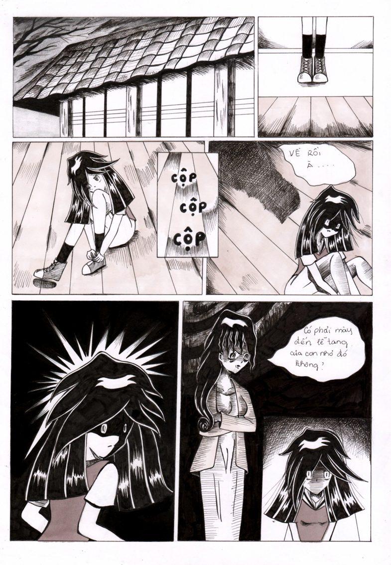 truyện tranh The Witch Chu Thị Tú Trinh 13