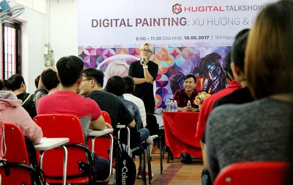 [Hugital Show] Talkshow và trải nghiệm về nghề Digital Painting