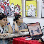 Khai giảng khóa 09 lớp dạy vẽ thiếu nhi Manga Comics 12